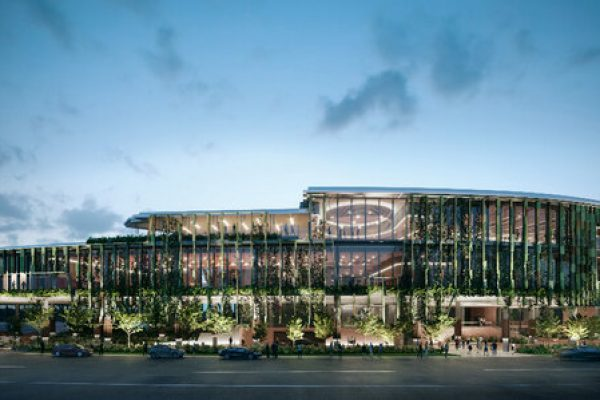 Artist Render Cairns Convention Centre Expansion Redevelopment